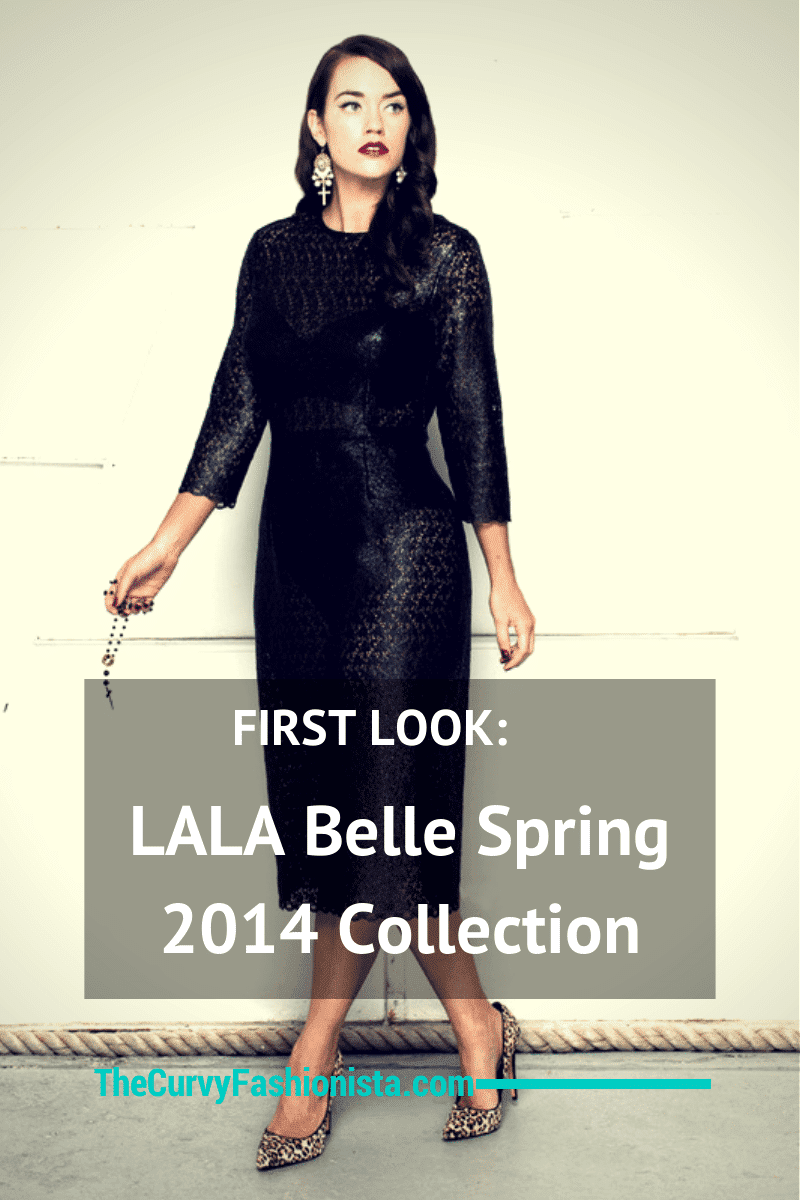 First Look at Australian Plus Size Label- The LALA Belle Spring Collection
