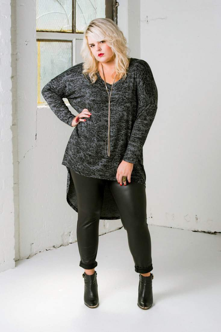 Plus size designer HARLOW Australia Fall 2014 Look Book on The Curvy Fashionista