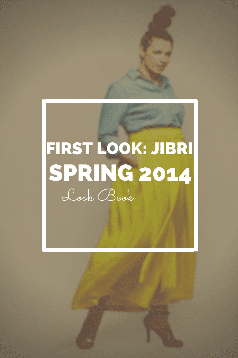 First Look: Jibri Spring 2014 Collection Look Book