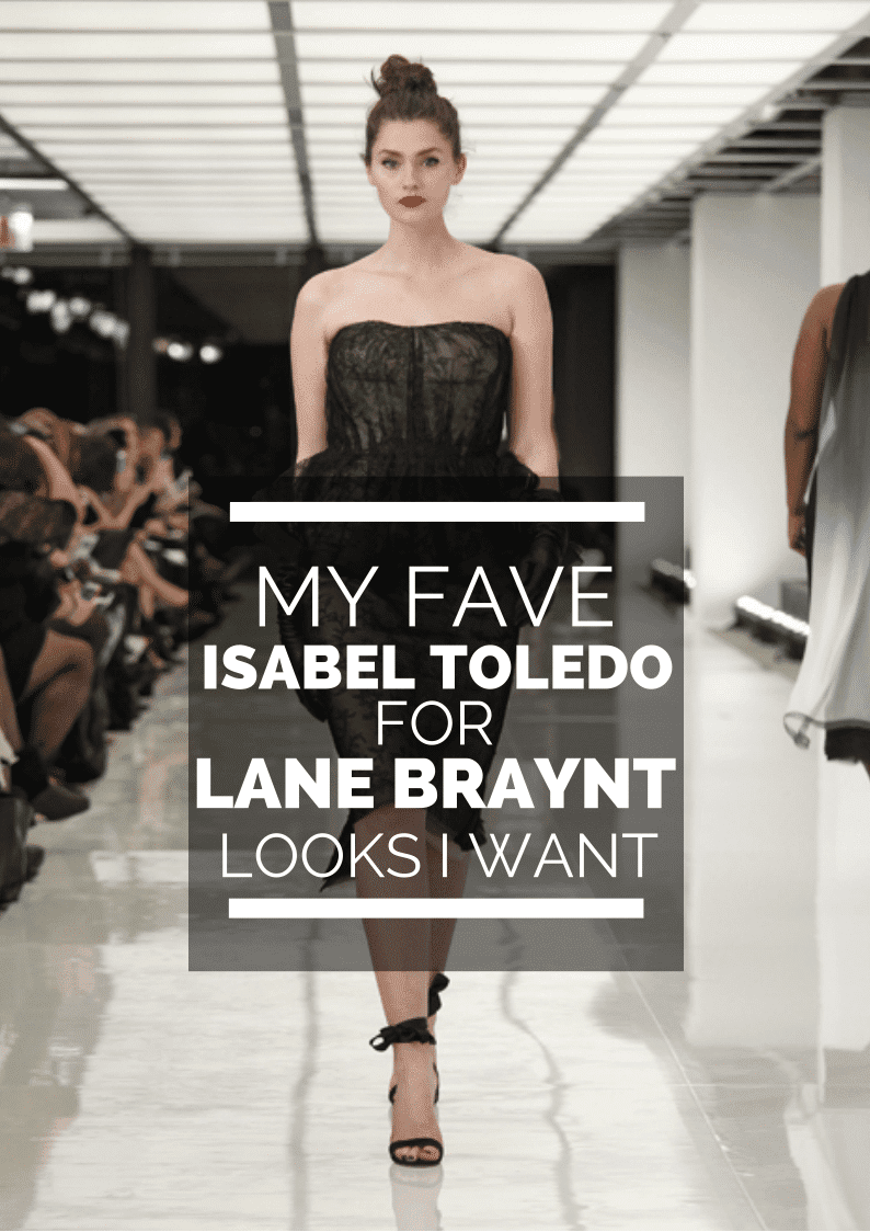 Isabel Toledo for Lane Bryant Looks from the Fashion Show