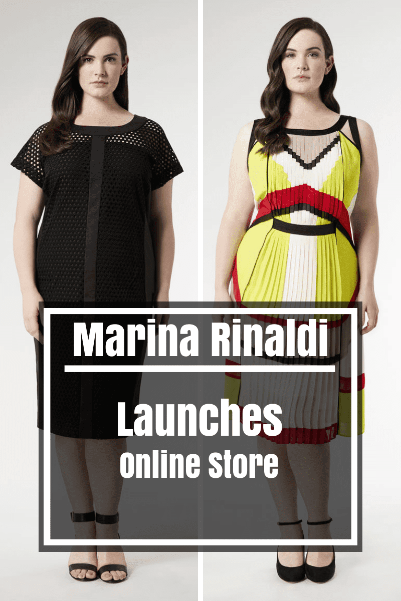 Luxury Plus Size Designer Marina Rinaldi Launches Online Store