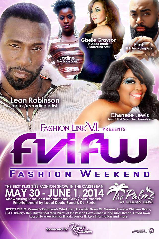 Coming Soon: Fashion Link V.I. Fashion Weekend in St Croix Virgin Islands!