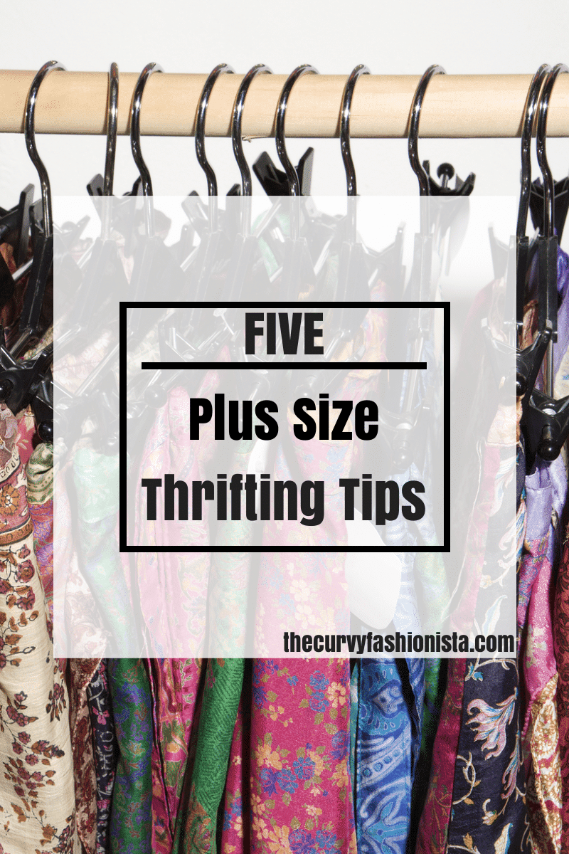 5 Plus Size Thrifting Tips