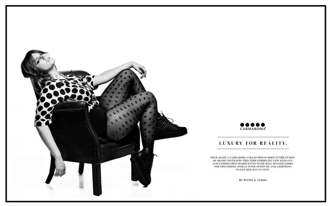 CarmaKoma Fall 2014 Plus Size Designer Look Book on The Curvy Fashionista