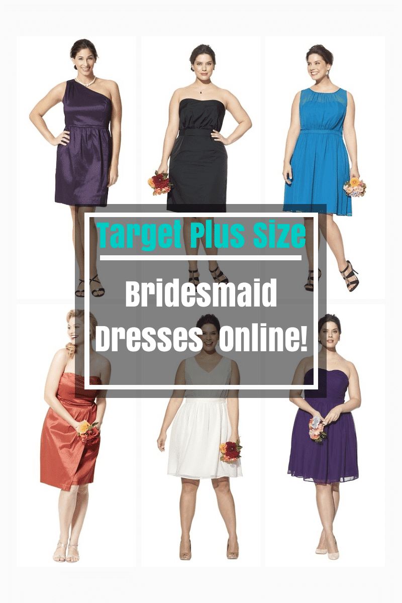 Target Plus Size Bridesmaid Dresses NOW Online | The Curvy Fashionista