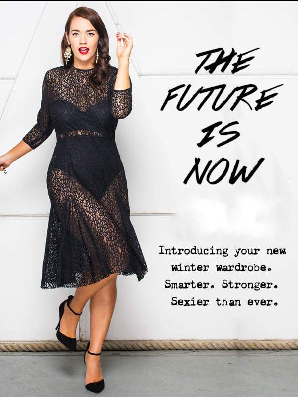 Australian Plus Size Label- The LALA Belle Spring Collection on The Curvy Fashionista
