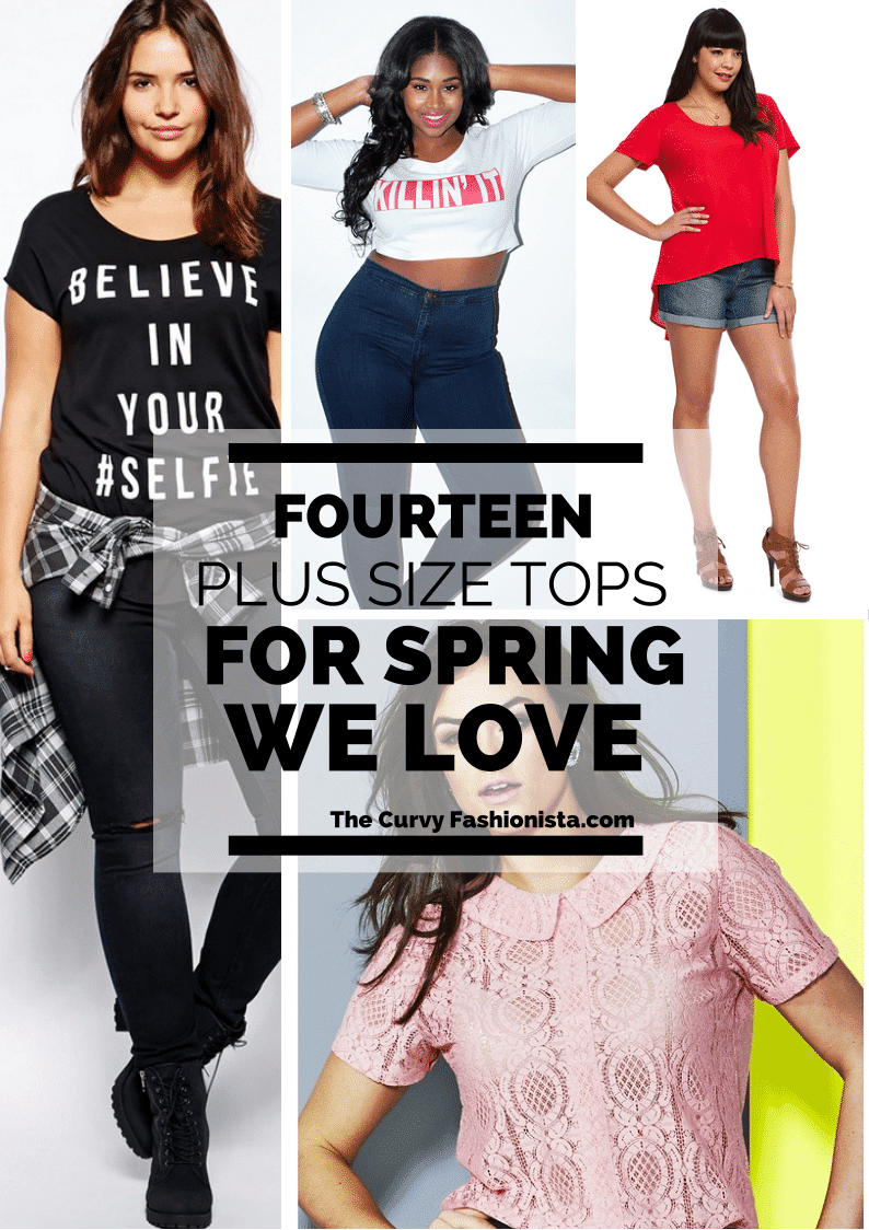 14 Plus Size Tops We LOVE for Spring