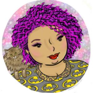 Plus Size Art: Fat Babe Designs by The Near Sighted Owl on The Curvy Fashionista
