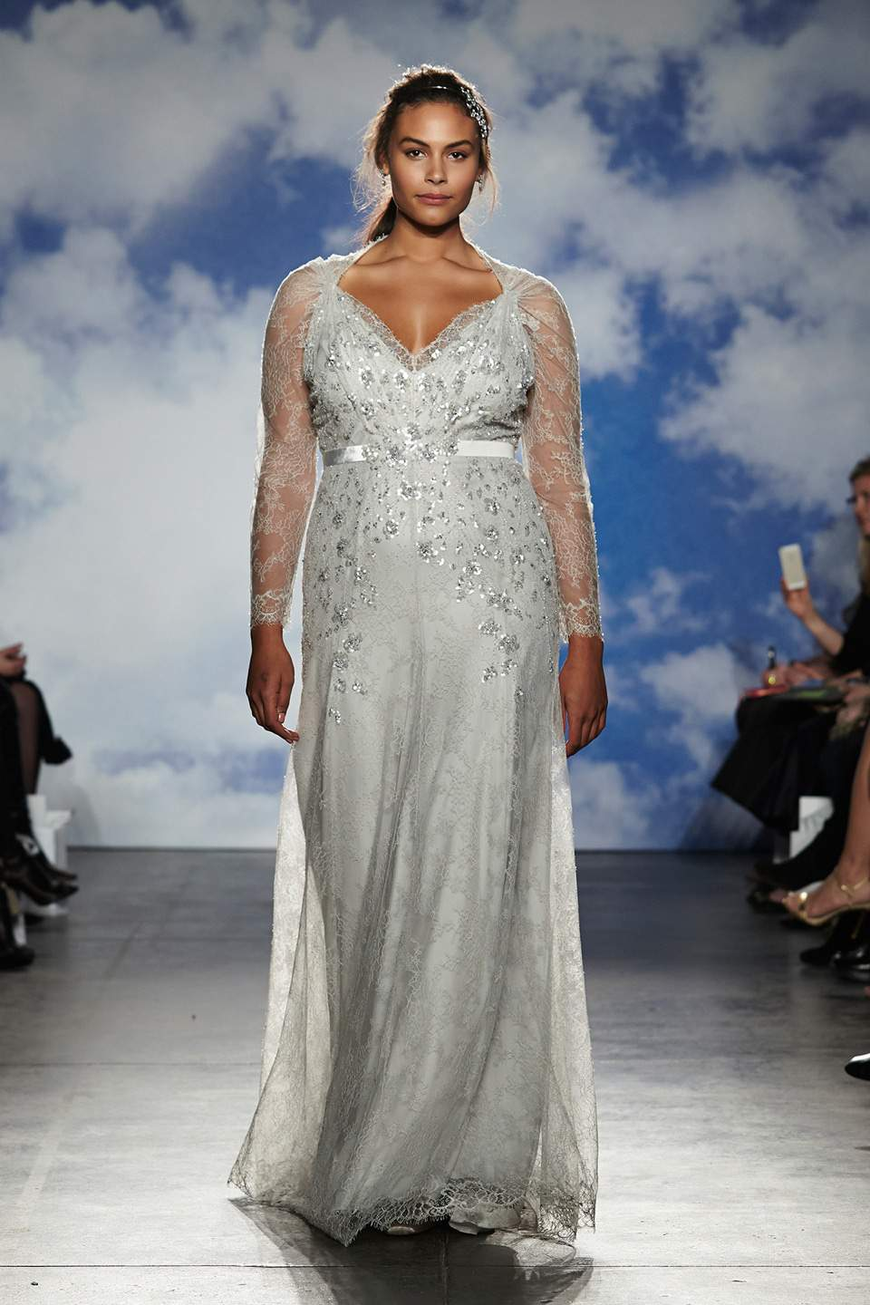 Jenny Packham 2015 Bridal Collection Features Plus Size Models