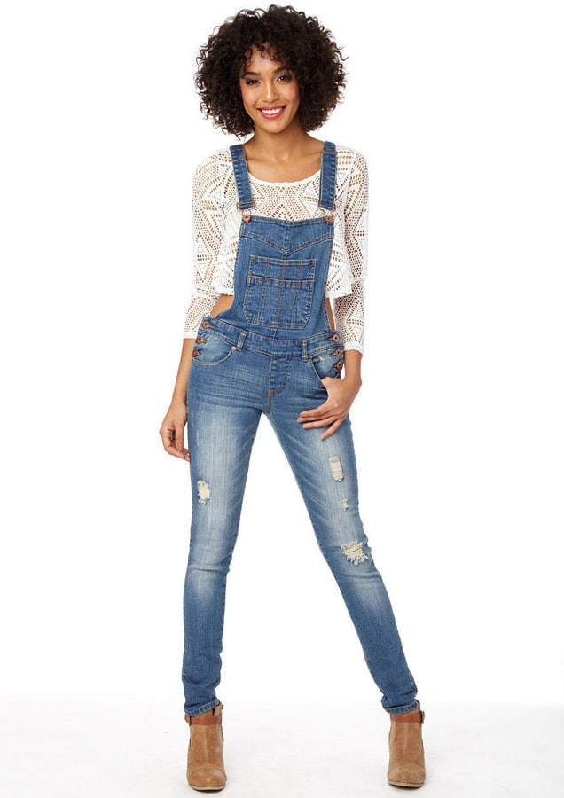 Revolt Jeans Women's Plus Size 22 Denim Bib Overalls w/Embroidered Flowers. $ Buy It Now. Free Shipping. These are the perfect overall, very sturdy and durable denim. Shoulder snap and side buttons. USA Womens Sleeveless Dungaree Jumpsuits Cargo Pants Trousers Overalls Plus Size. $ Buy It Now. Free Shipping.