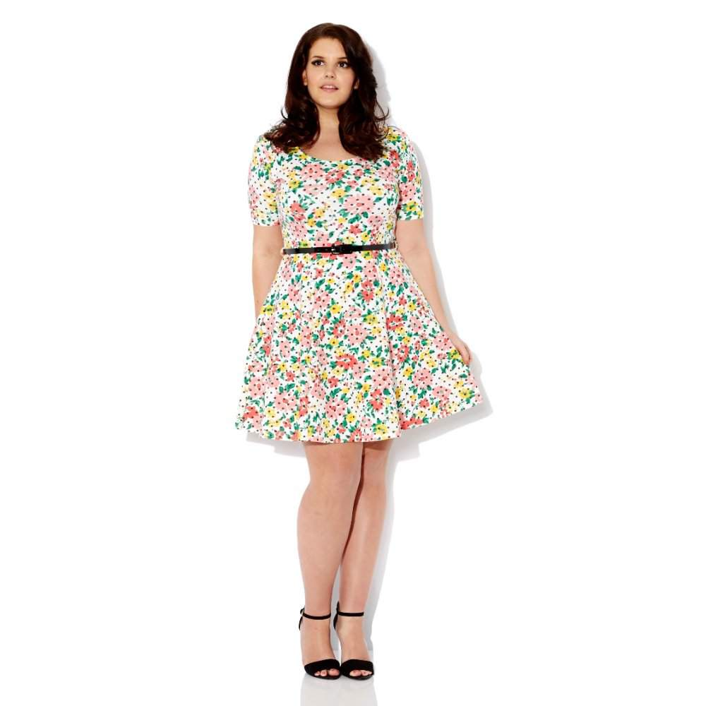 Flowed Dress Big Size