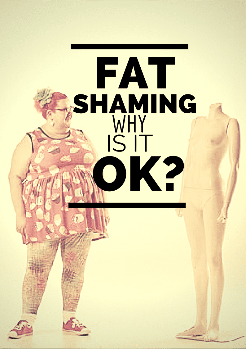 Kath Read and Fat Shaming by Strangers, Why is this OK?