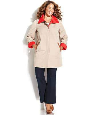 Ellen Tracy Raincoat