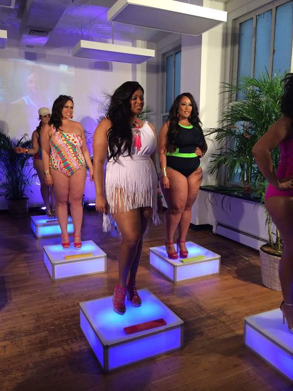 Monif C Plus Sizes #MyBeachisBetter Event  on The Curvy Fashionista