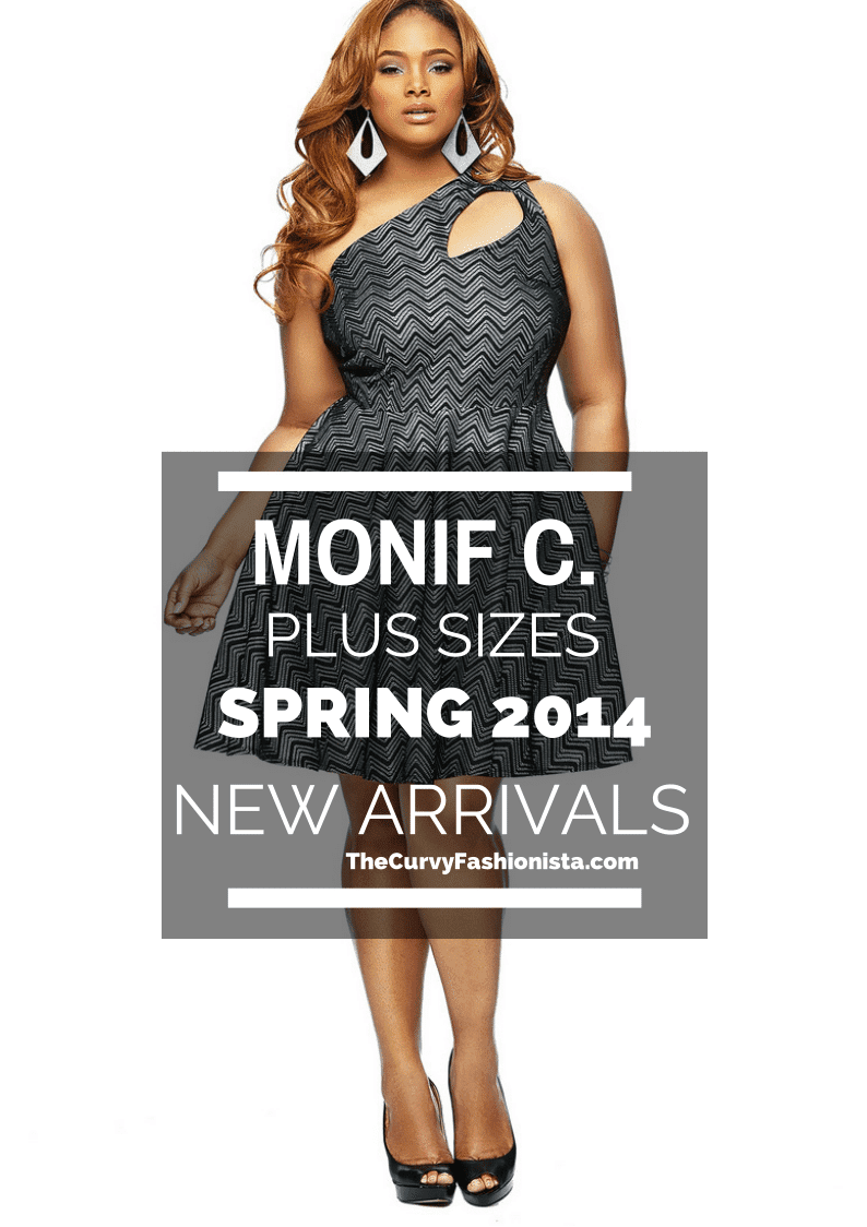 Monif C Plus Sizes Spring 2014 on The Curvy Fashionista