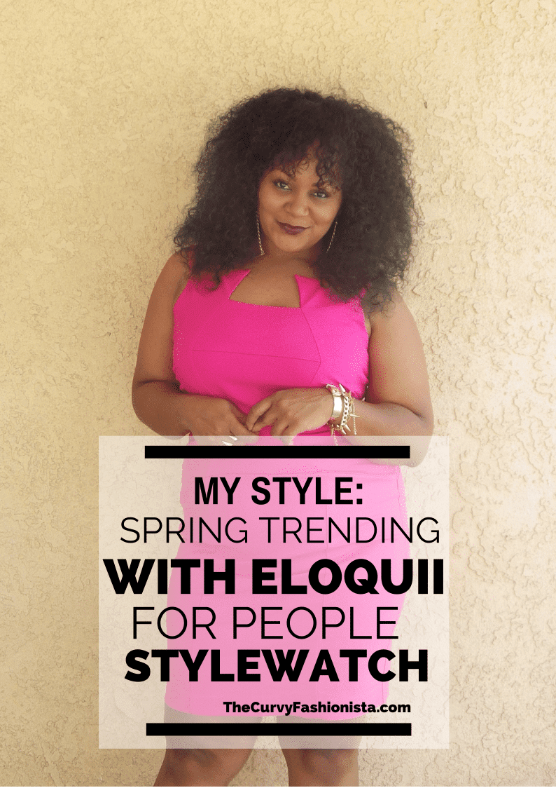 My Style: Spring Trending with Eloquii for People StyleWatch