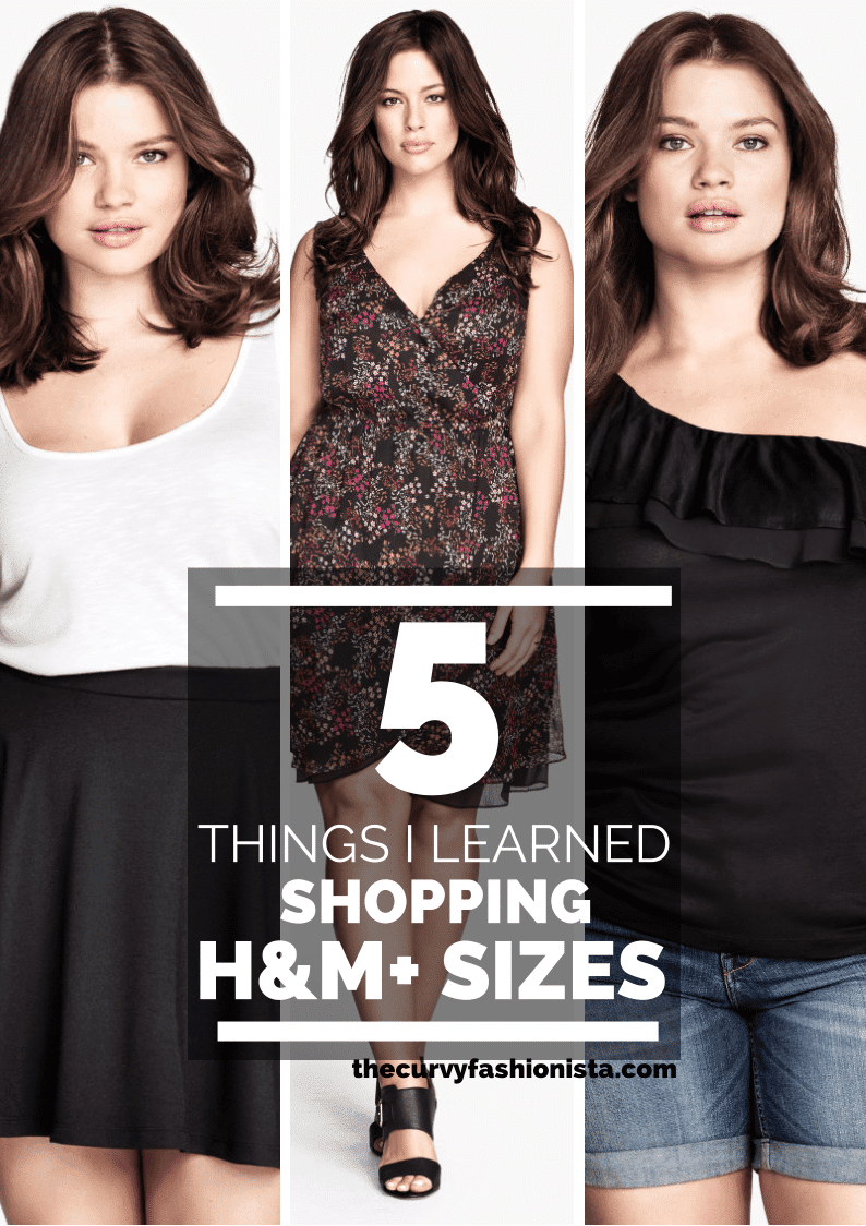5 Things I Learned About Shopping H&M Plus Sizes | The Curvy ...