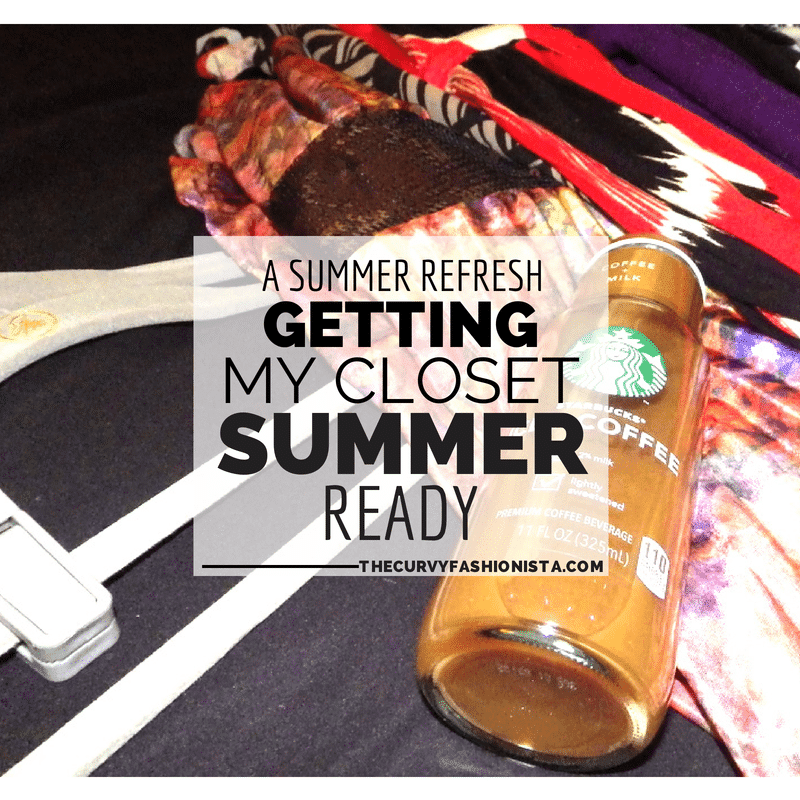 A Summer Refresh: Getting My Closet Summer Ready