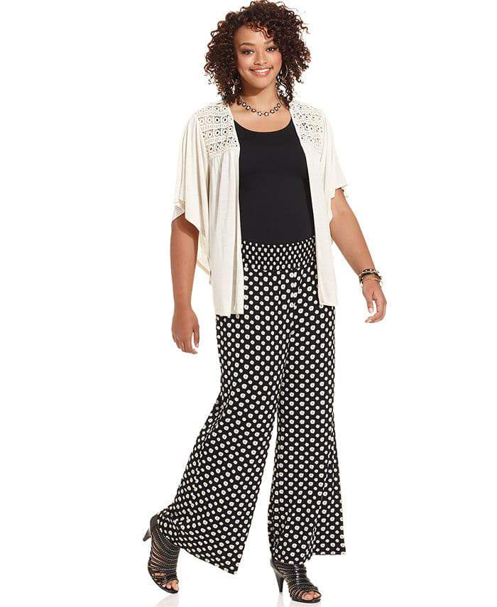 American Rag Plus Size Printed Soft Pants