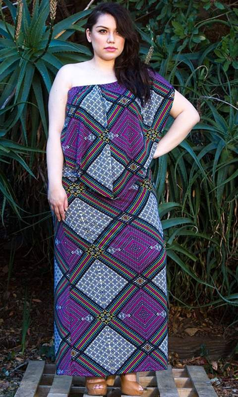 Annabelle Multi Wear Dress by SWAK Designs- Plus Size Maxi Dresses on The Curvy Fashionista