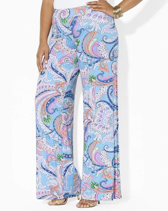 Lauren Ralph Lauren Plus Full Length Pants
