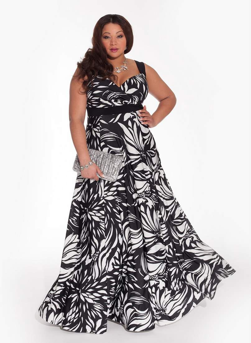 Maddalena Plus Size Maxi Dress by Igigi- Plus Size Maxi Dresses on The Curvy Fashionista