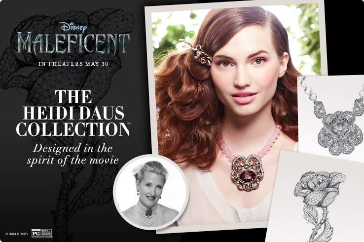 Maleficent Heidi Daus Jewelry Collection at HSN on The Curvy Fashionista