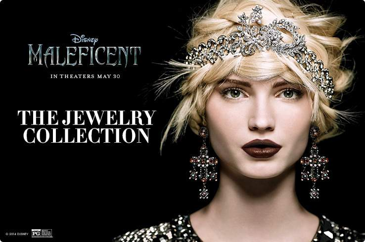 Maleficent Jewelry Collection at HSN on The Curvy Fashionista