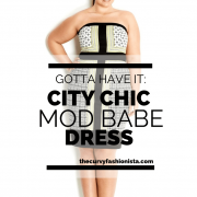 Mod Babe Plus Size Strapless Dress by City Chic