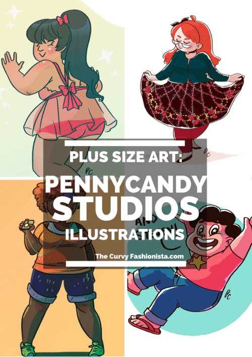 Plus Size Art: Making a Statement with Penny Candy Studios