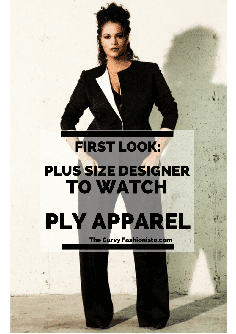 Plus Size Designer to Watch- PLY Apparel  on The Curvy Fashionista