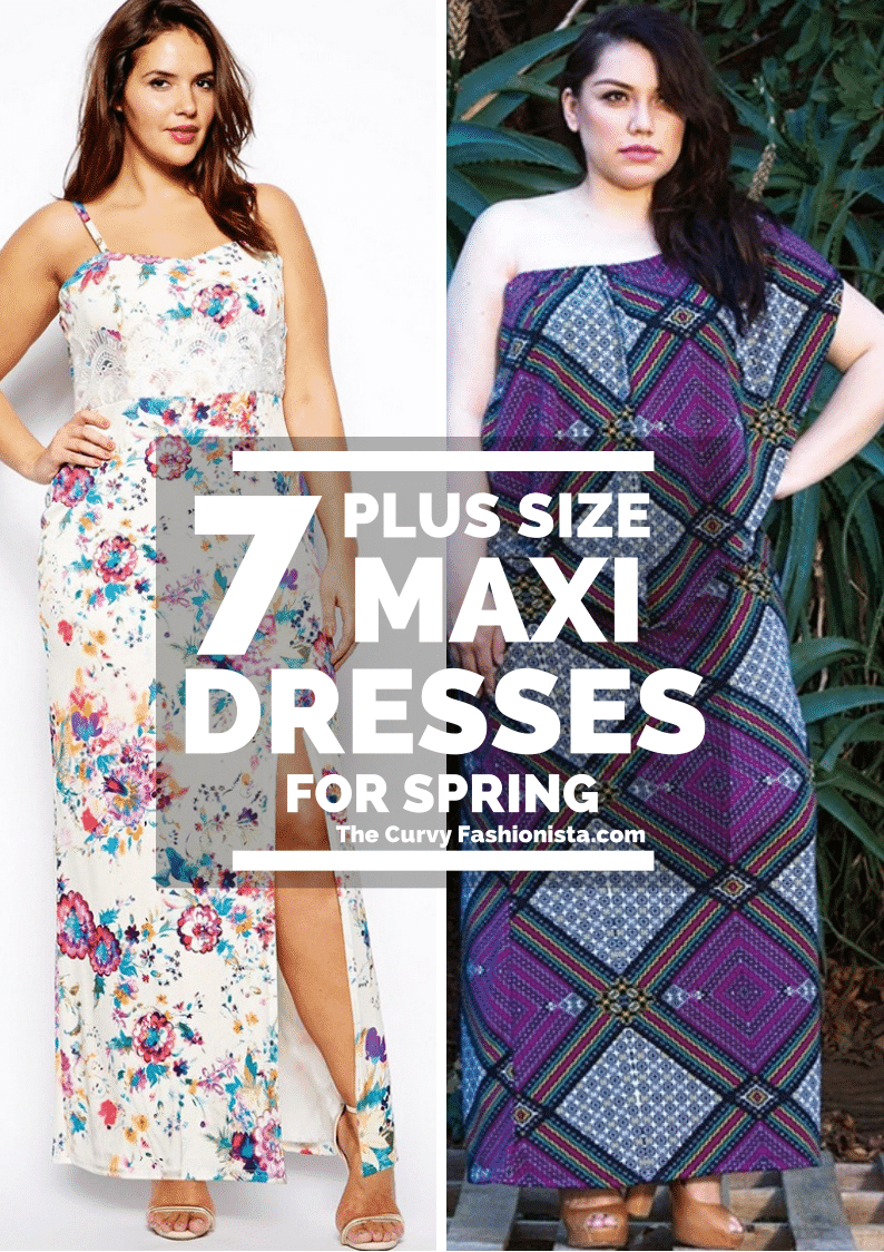 Plus Size Maxi Dresses on The Curvy Fashionista