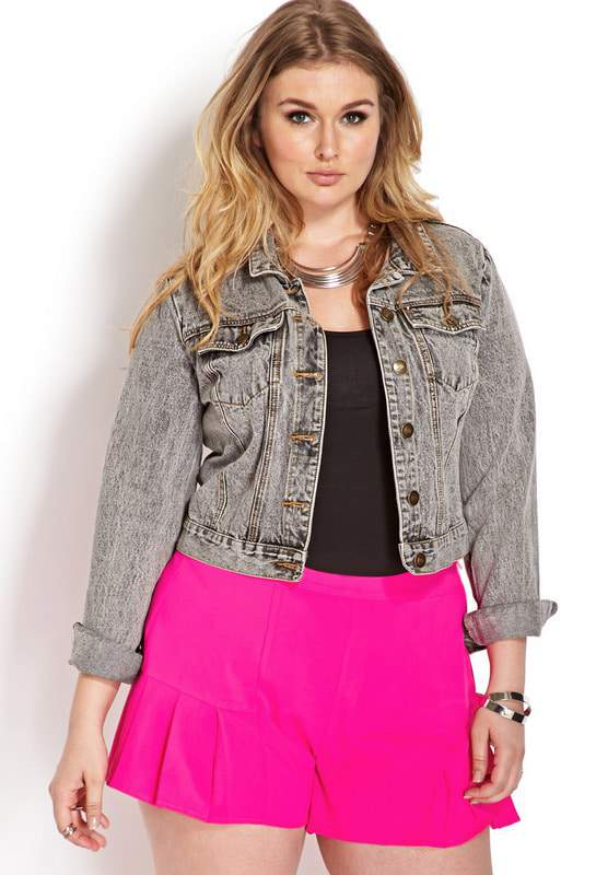Sophisticate Pleated Shorts from Forever 21