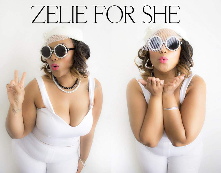 Los Angeles Plus Size Designer, Zeli for She Collection
