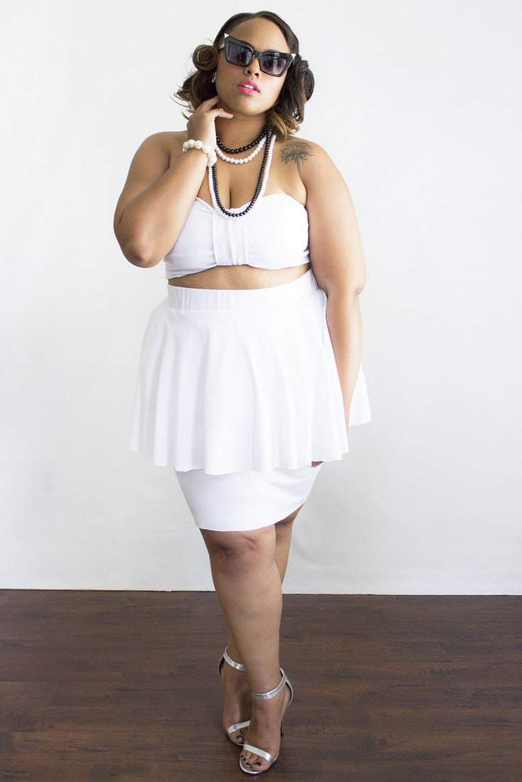 Los Angeles Plus Size Designer, Zelie for She Collection