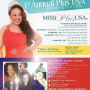 The Curvy Fashionista as Social Media Ambassador for 1st Annual Miss Plus USA Competition