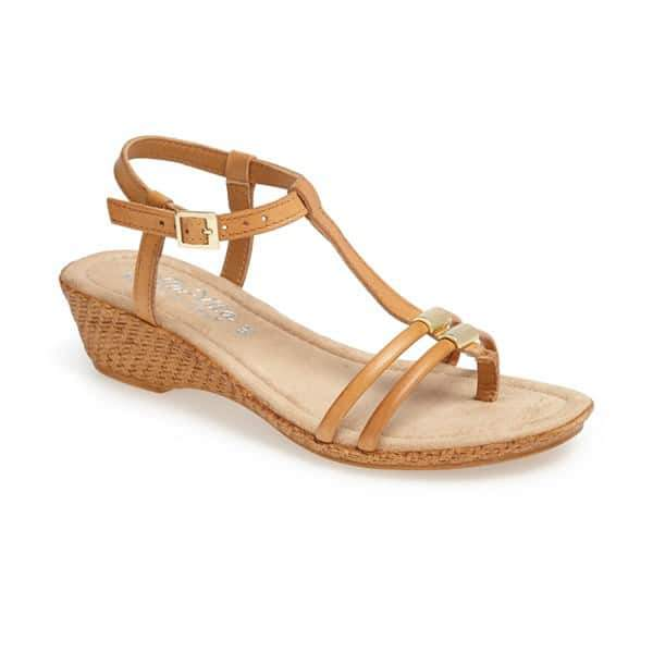 BELLA VITA Grazie Wide Width Wedge Sandal