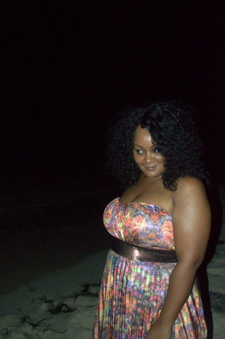 A Beachside Romance in My City Chic Maxi Dress