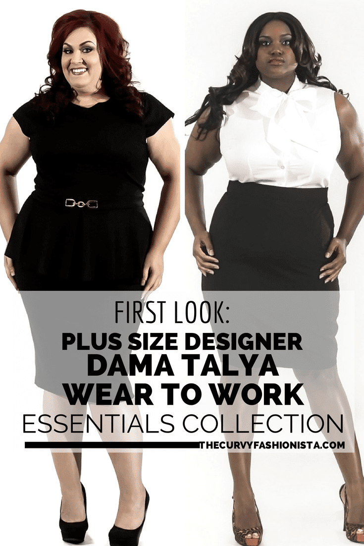 Designer Dama Talya- Plus Size Wear to Work Essentials