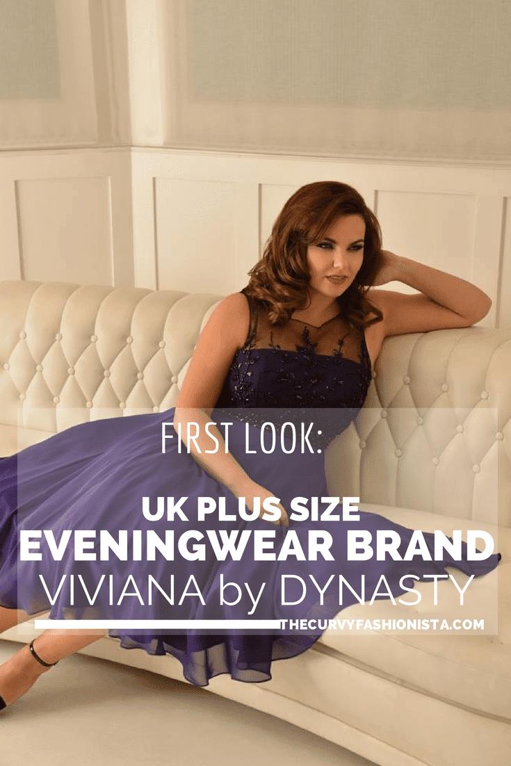First Look at UK Plus Size Eveningwear Brand: Viviana