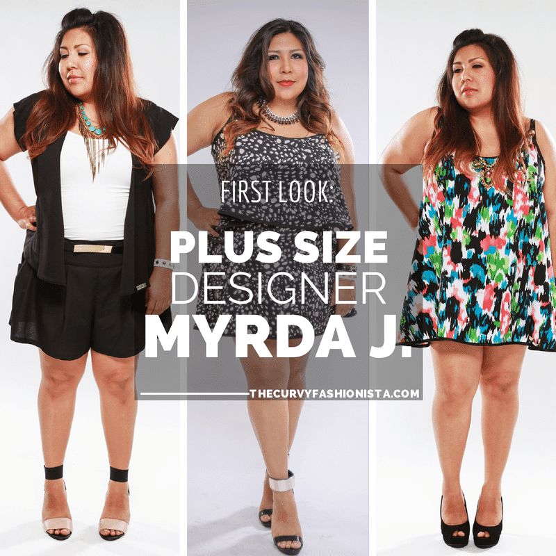 First look at Plus Size Designer: Myrda J Designer Apparel