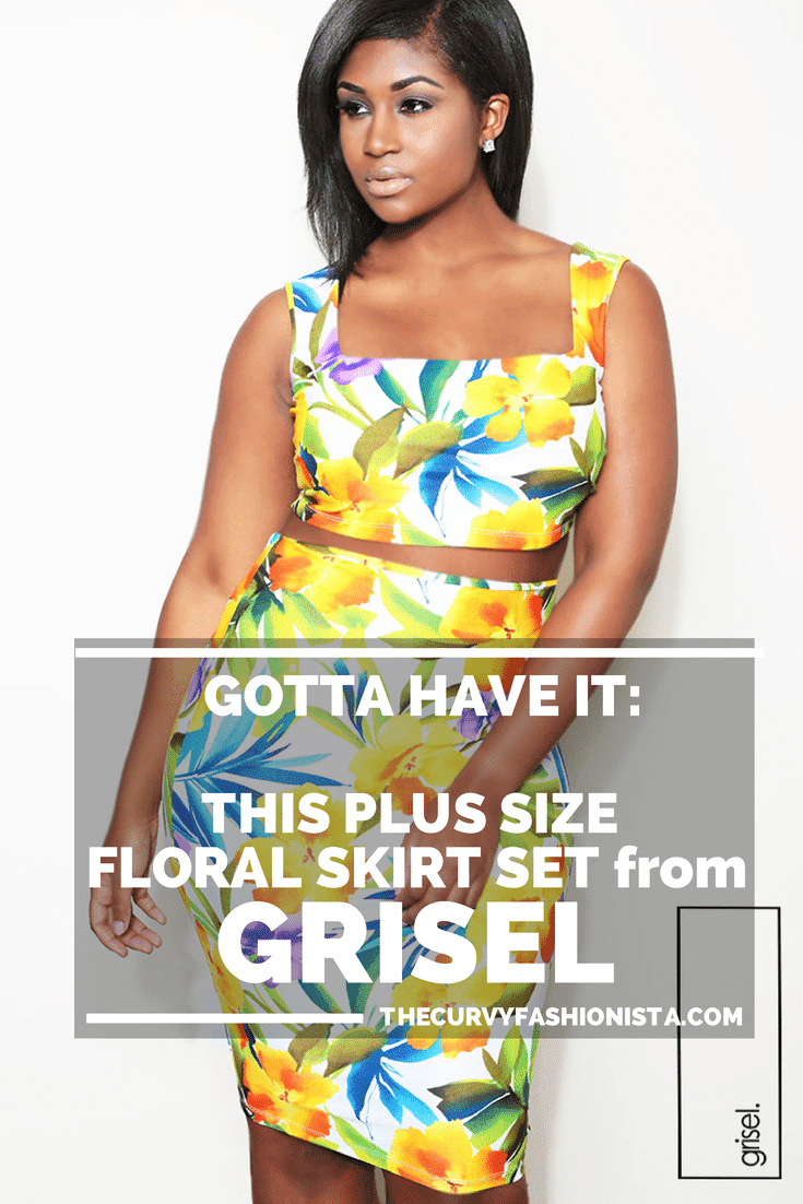 Gotta Have It- This Plus Size Floral Skirt Set from Grisel