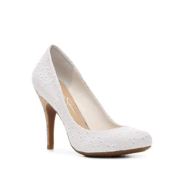 Jessica Simpson Oscar Embroidered Pump at DSW