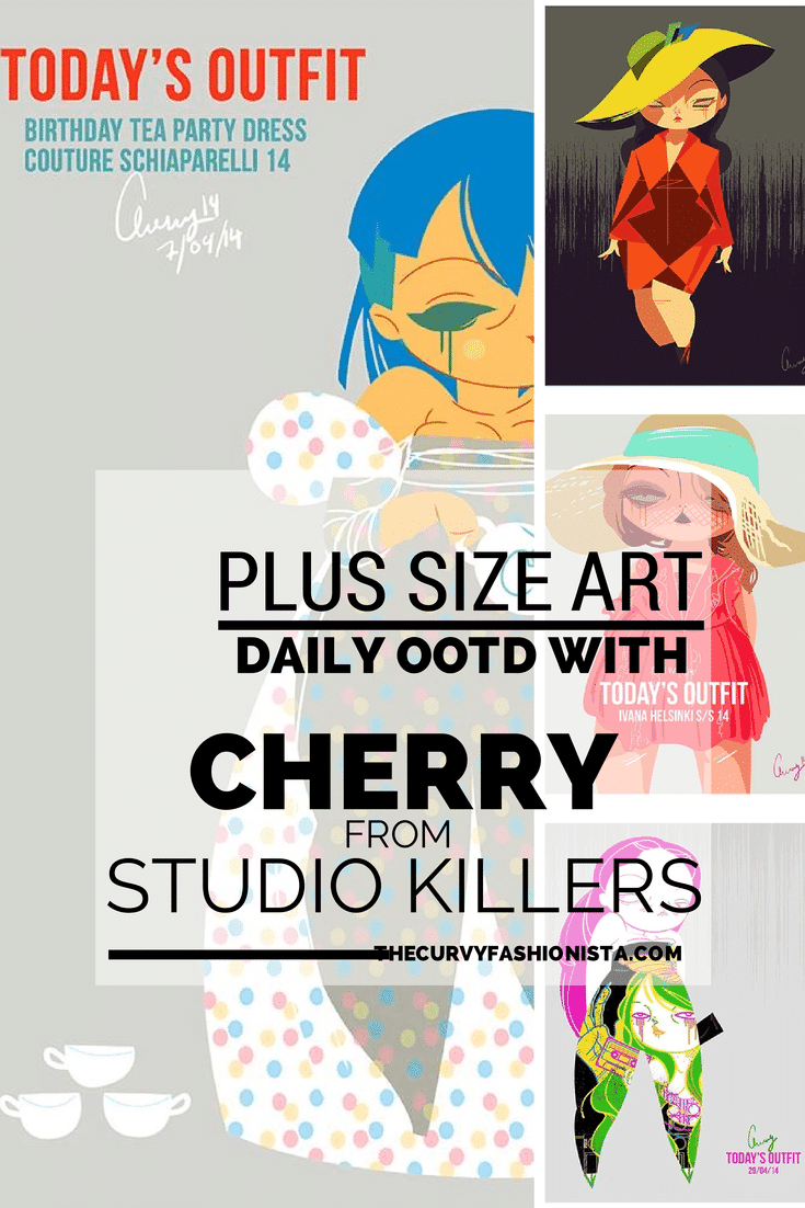 PLUS SIZE ART- Your Daily OOTD with Cherry from Studio Killers