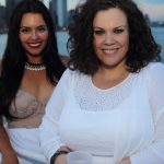 Plus size model and actress Rosie Mercado and Plus Model Magazine Editor in Chief Madeline Jones