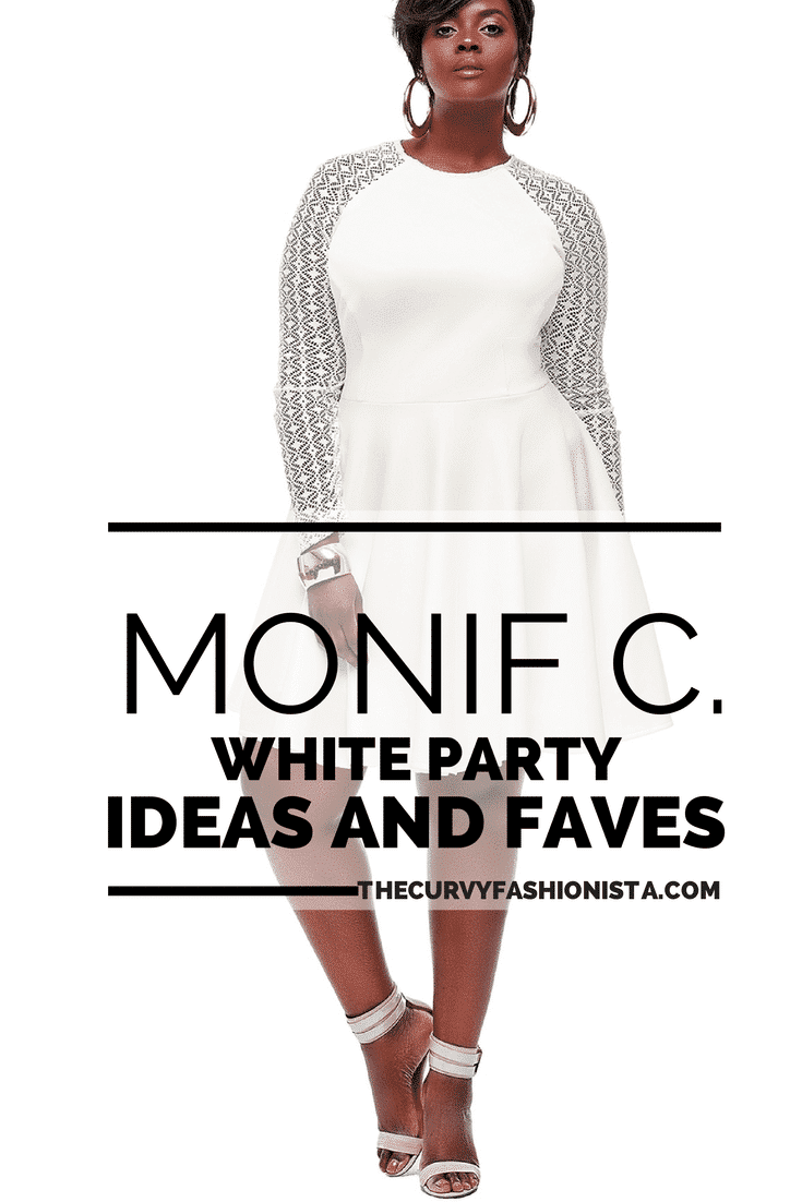 White Party Ideas and Faves from Monif C Plus Sizes