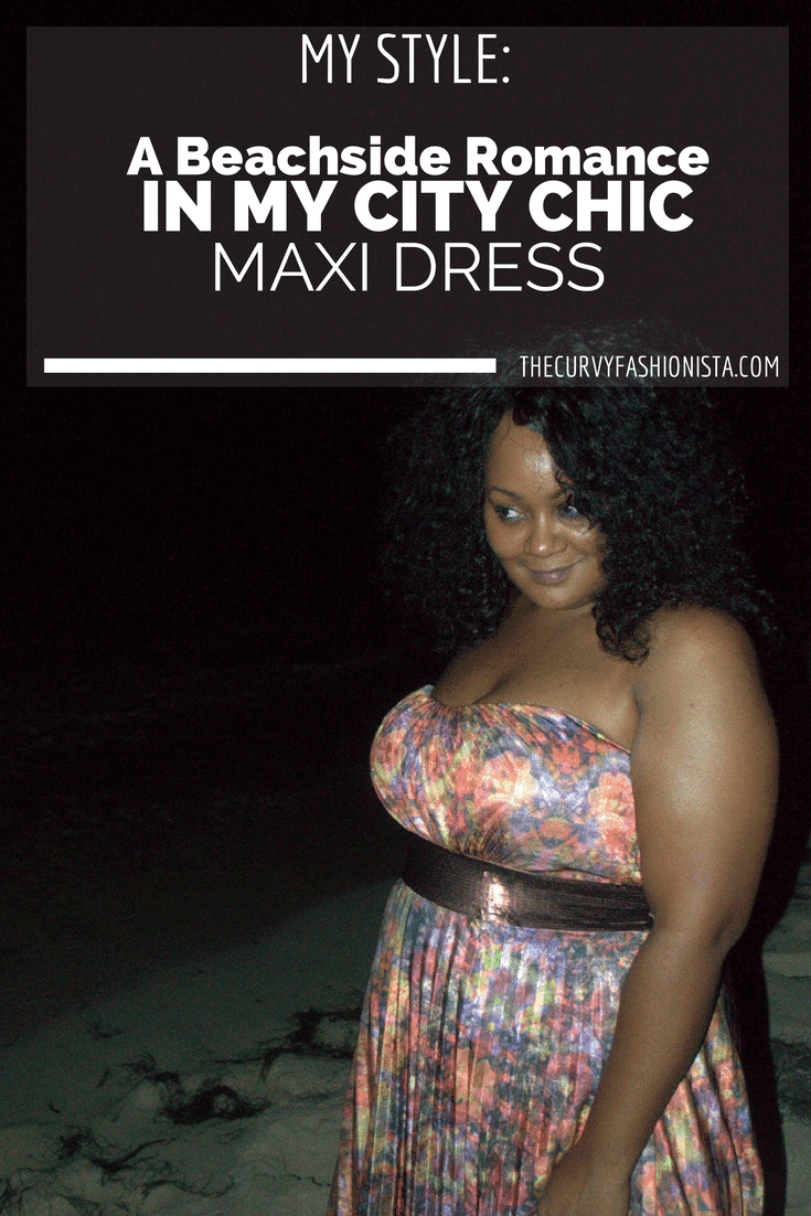 in My City Chic maxi dress