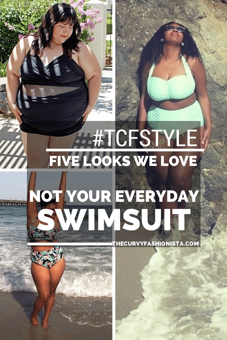 tcfstyle plus size swimsuits