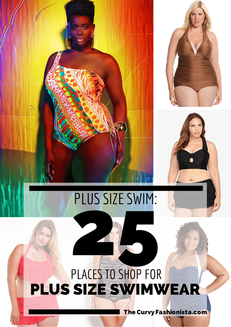25 Places to Shop for Plus Size Swimwear