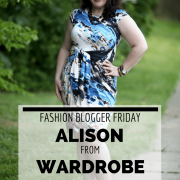 FASHION BLOGGER FRIDAYS: Alison from Wardrobe Oxygen